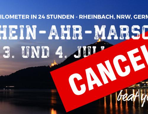 Offizielle Absage des RHEIN-AHR-MARSCH 2020