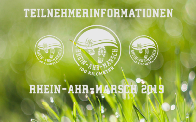 RHEIN-AHR-MARSCH 2019 - Teilnehmerinformationen