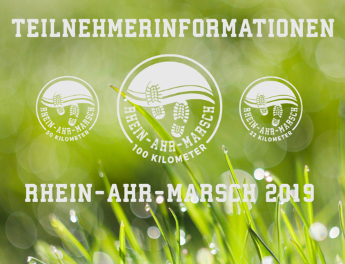 RHEIN-AHR-MARSCH 2019 – Teilnehmerinformationen