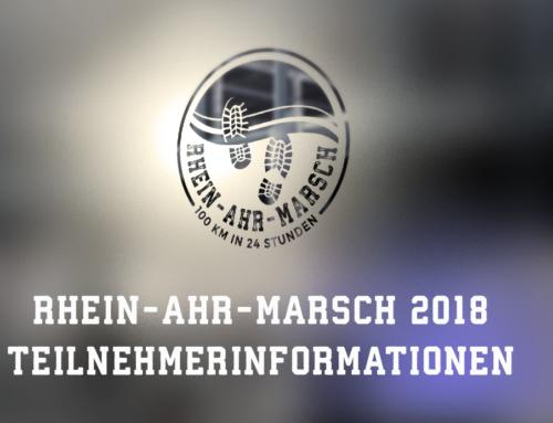 RHEIN-AHR-MARSCH 2018 – Teilnehmerinformationen