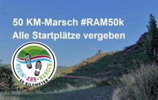 RHEIN-AHR-MARSCH RAM50K 50 Kilometer ausgebucht