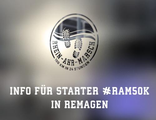 Start #RAM50K früher möglich