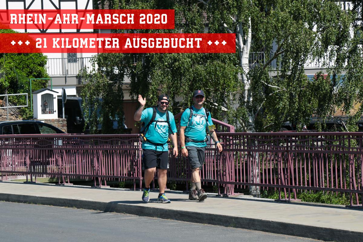 RHEIN-AHR-MARSCH 21 KM Strecke ausgebucht