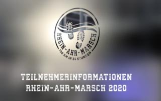 Teilnehmerinfos RHEIN-AHR-MARSCH 2020
