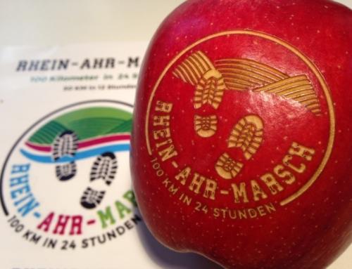Laser-Apfel für jeden Finisher #RAM100k
